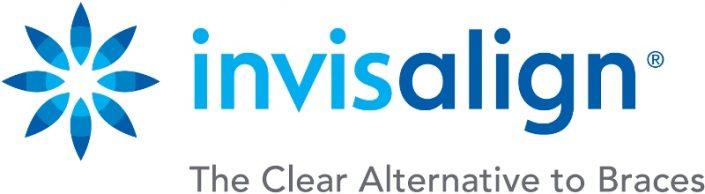 Invisalign Logo (mit Bildunterschrift)